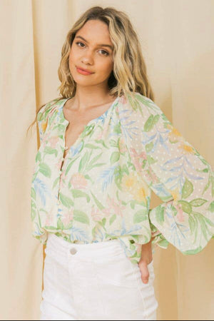 Macie Floral Blouse