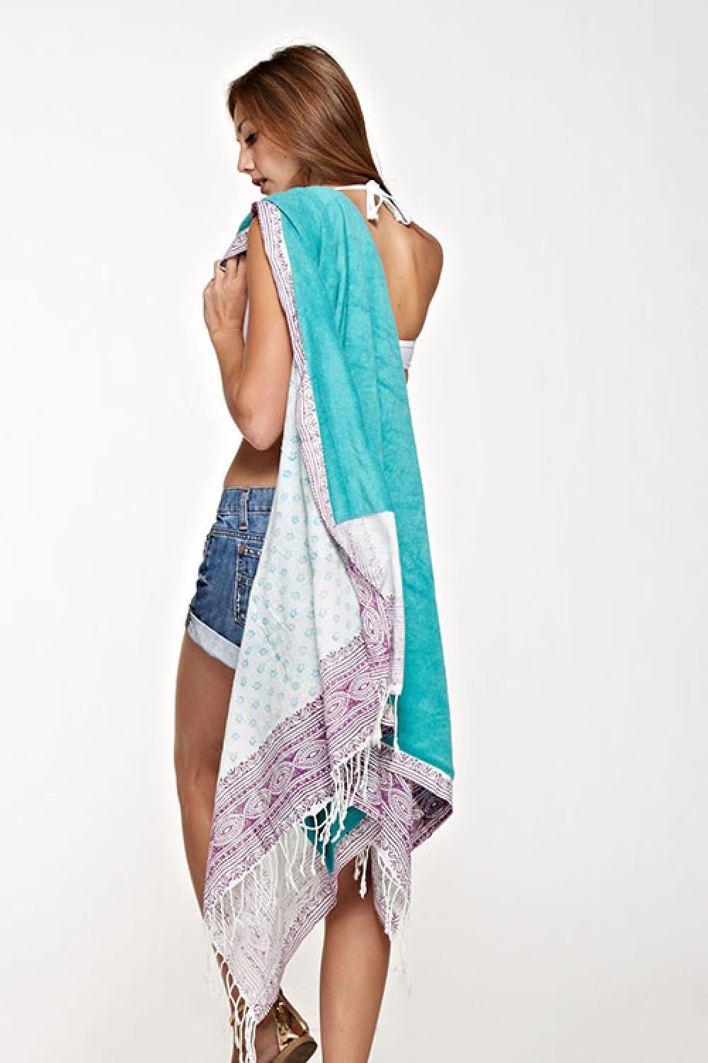 Boho Beach Towel