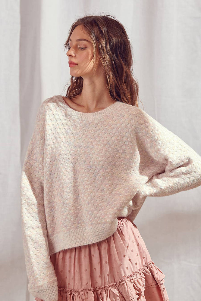 Pastel Pattern Sweater