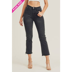 Willa Black Ankle Jean - VOLUME