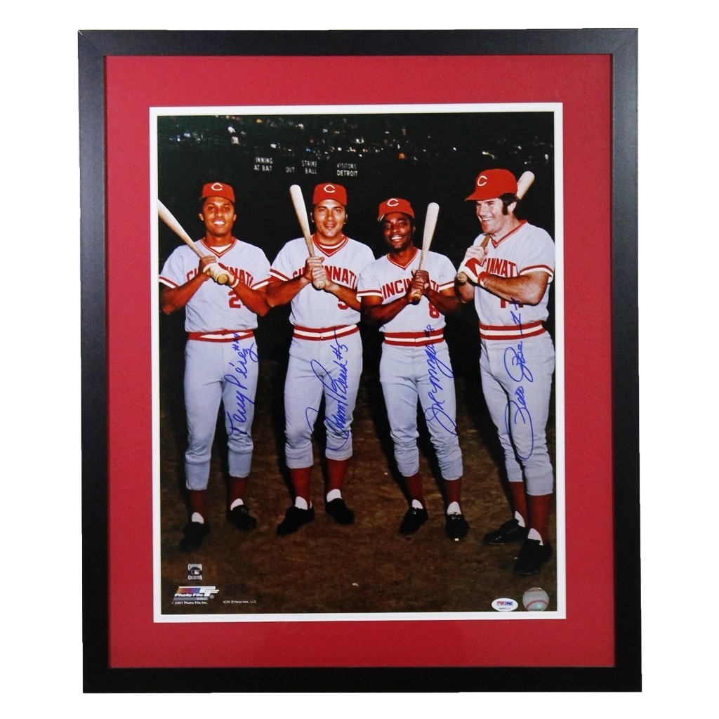 Big Red Machine Autographed 16x20