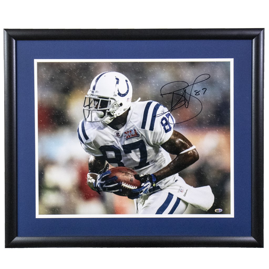 Reggie Wayne Indianapolis Colts 'Super Bowl Catch' Autographed Framed 16x20