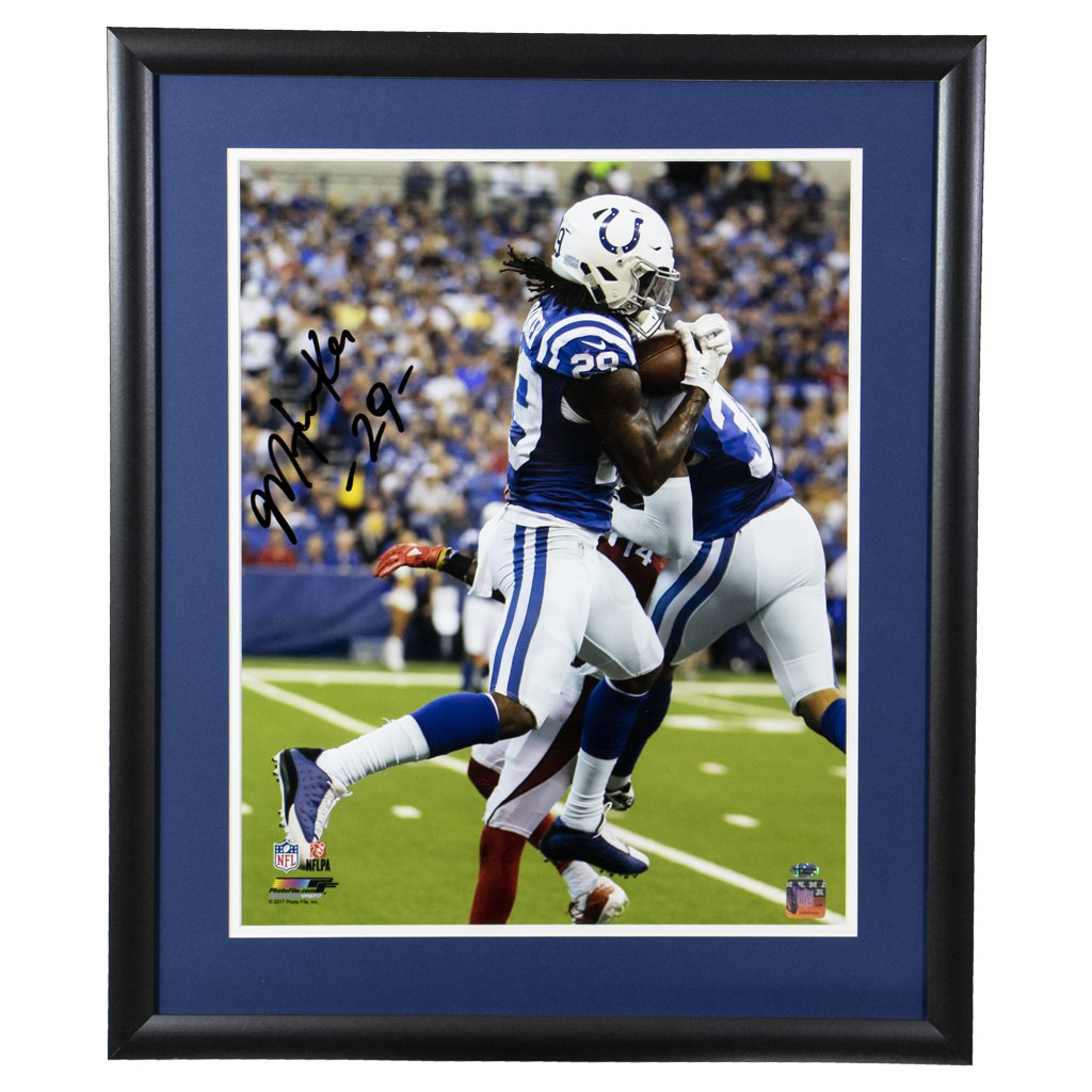 Malik Hooker Indianapolis Colts 'Carson Palmer Interception' Autographed Framed 16x20