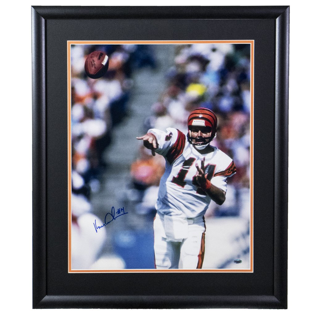 Ken Anderson Cincinnati Bengals 'Throwing the Football' Autographed Framed 16x20