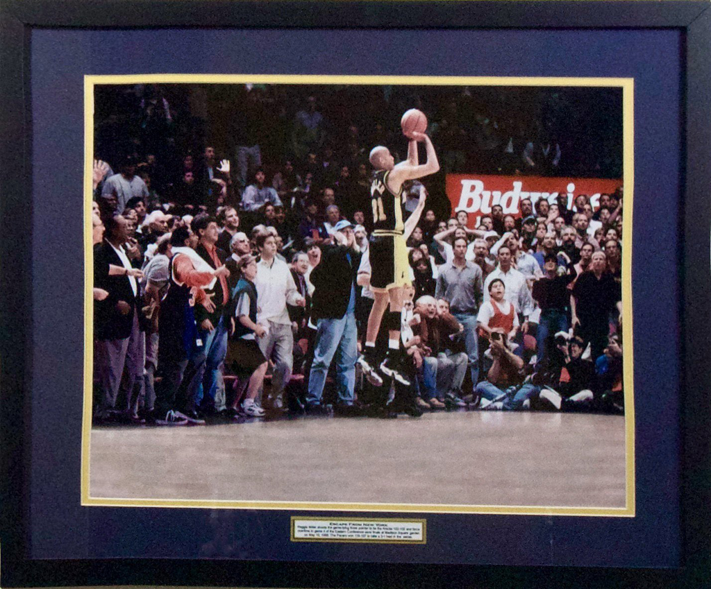 Reggie Miller Indiana Pacers 'Escape from New York' Framed 16x20
