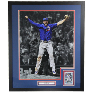 Kris Bryant Chicago Cubs' 2016 World Series Champion' Framed Rookie Card Display