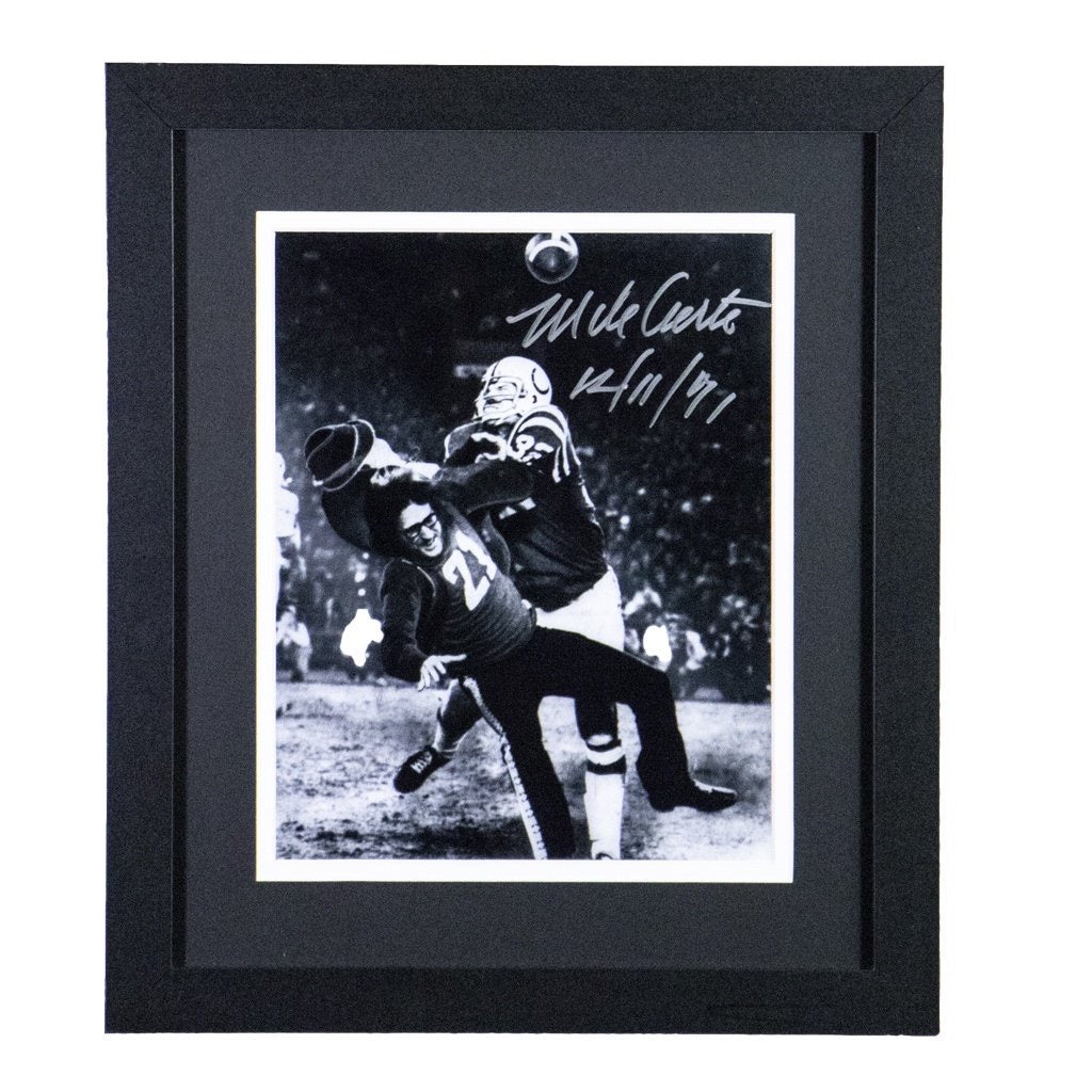 Mike Curtis Baltimore Colts Autographed Framed 8x10