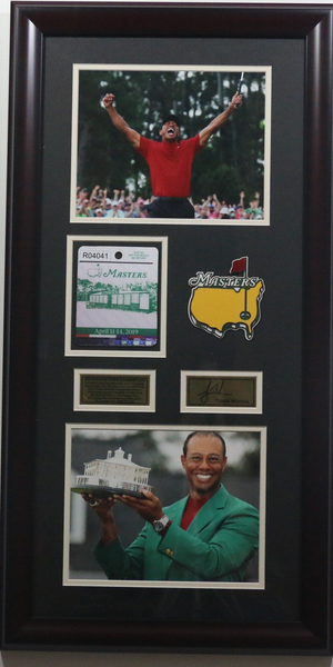 Tiger Woods Vertical 2019 Masters Champion