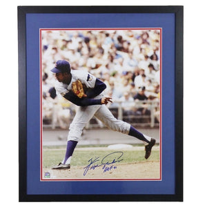 Fergie Jenkins Chicago Cubs Autographed Framed 16x20