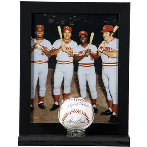 Big Red Machine Cincinnati Reds Autographed Baseball Display