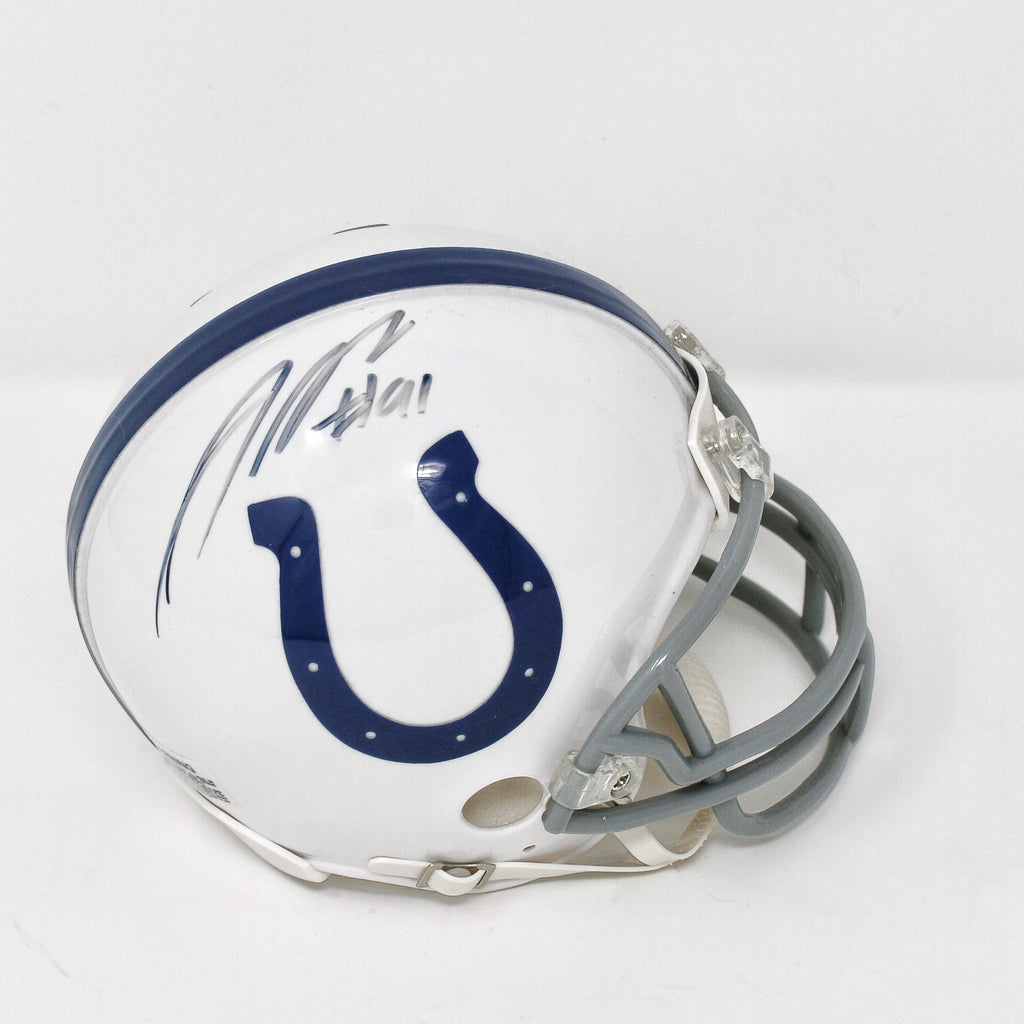 Jonathan Newsome Indianapolis Colts Autographed Mini Helmet