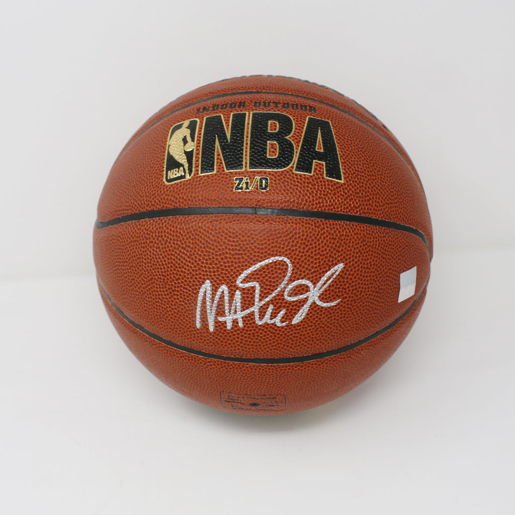 Magic Johnson Autographed Basketball
