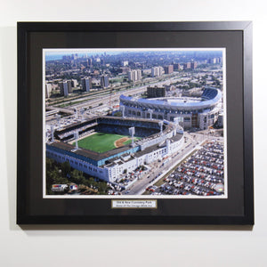 Comiskey Park Old And New