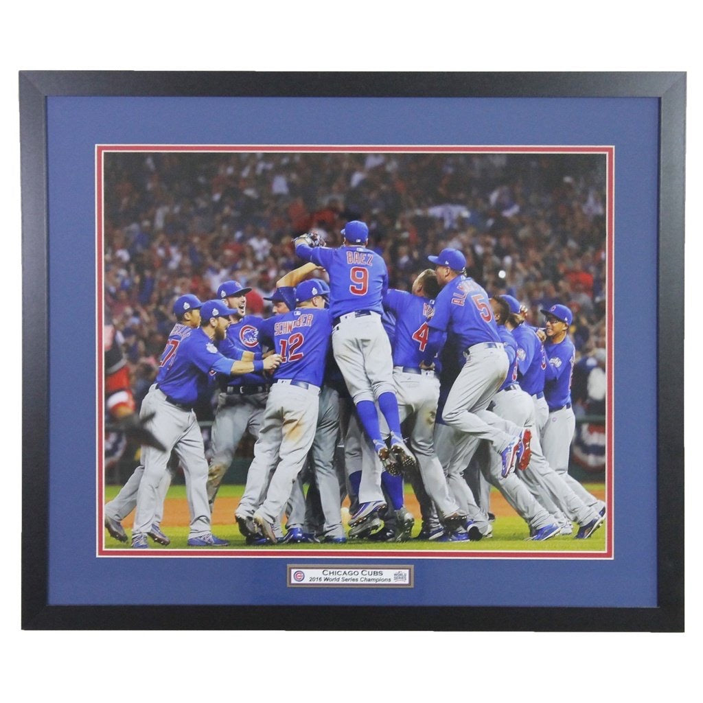 Chicago Cubs 'Celebration' 2016 World Series Champions Framed 16x20