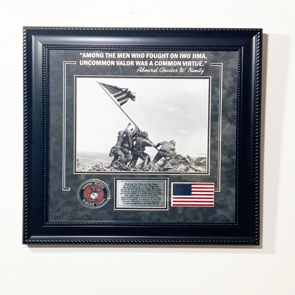 Iwo Jima Display