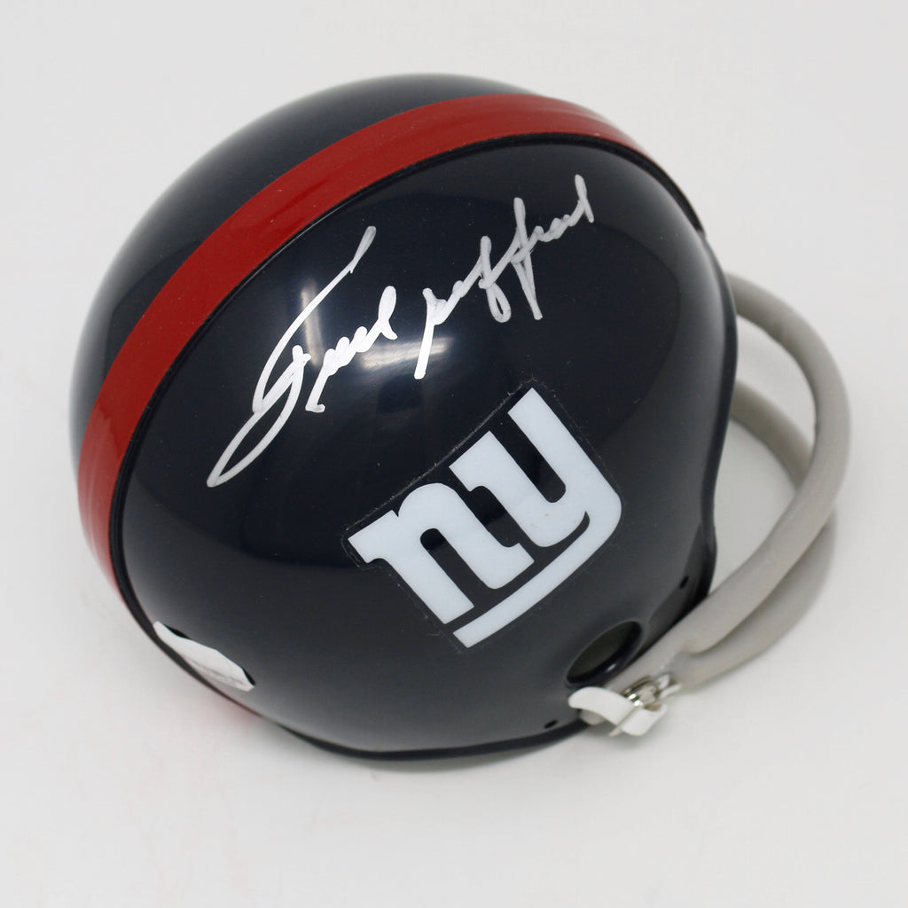 Frank Gifford New York Giants Autographed Mini Helmet