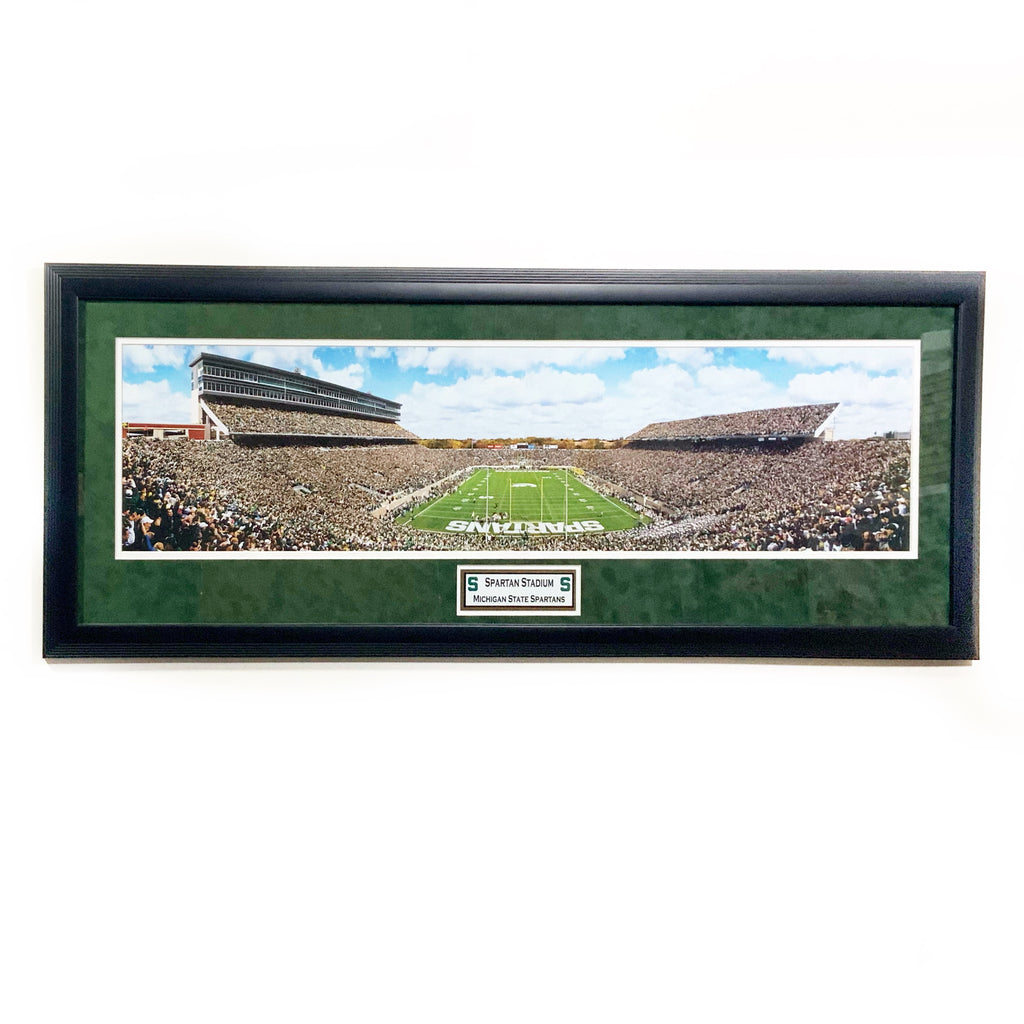 Michigan State Spartans Breslin Center Premium Framed Panoramic