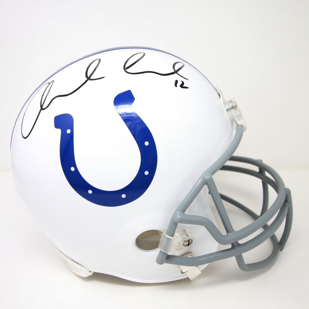 Andrew Luck Indianapolis Colts Autographed Mini Helmet