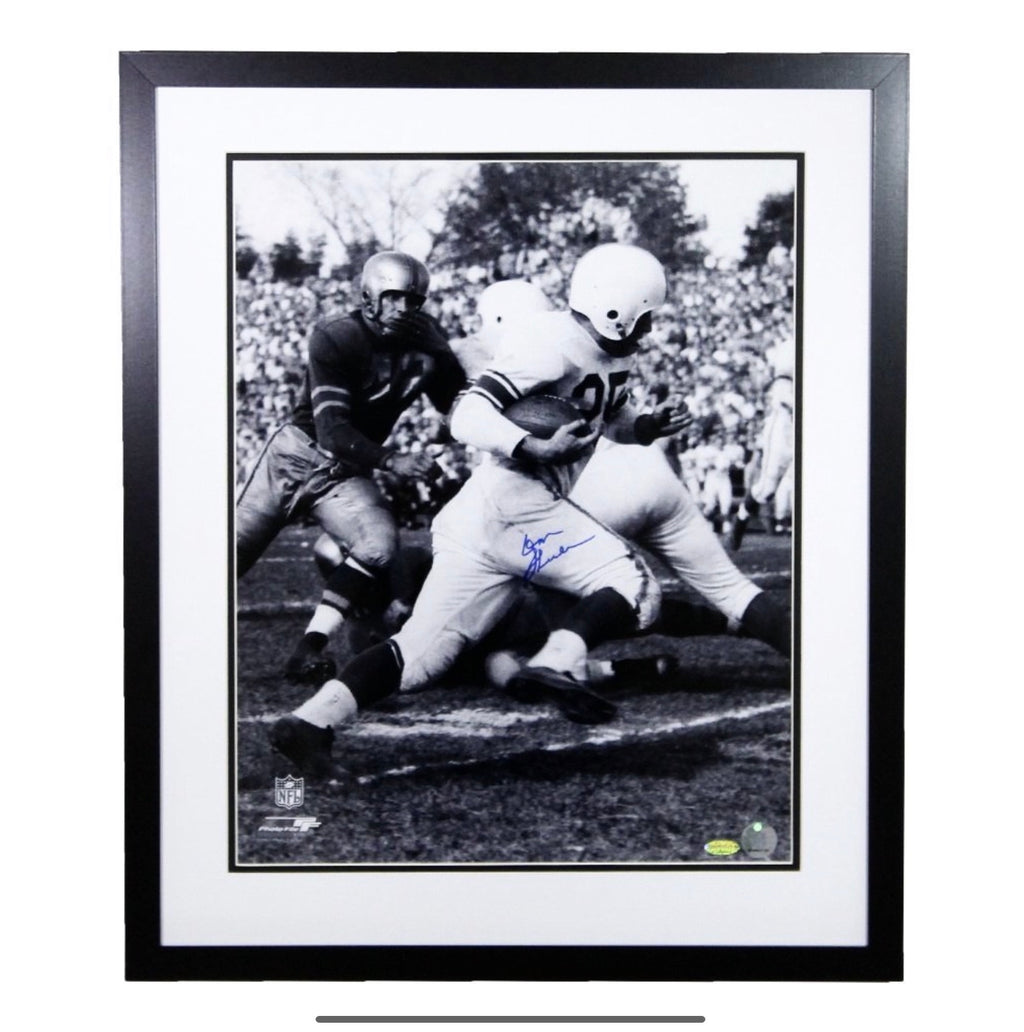 Don Shula Baltimore Colts Autographed Framed 16x20