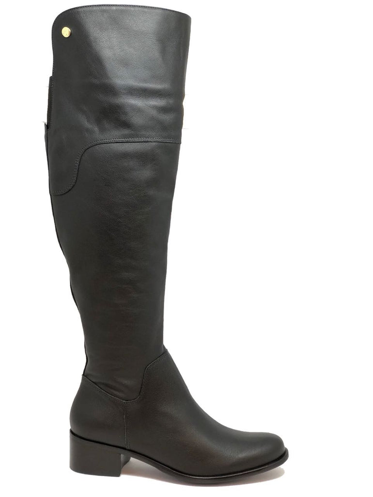 Bia Leather Knee Riding Boots