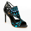 Blue Butterfly Heels Sandals - Bia Ullman