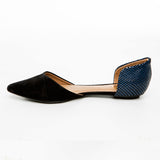 Back to Blue Flat Shoes - Bia Ullman