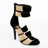Gladiator Gold Sandals - Bia Ullman