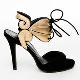 Gold Butterfly Wing Heels - Bia Ullman