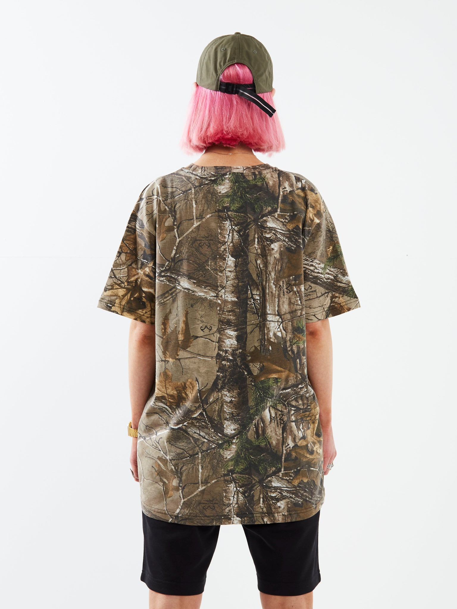 Keep in Line Camo T-shirt
