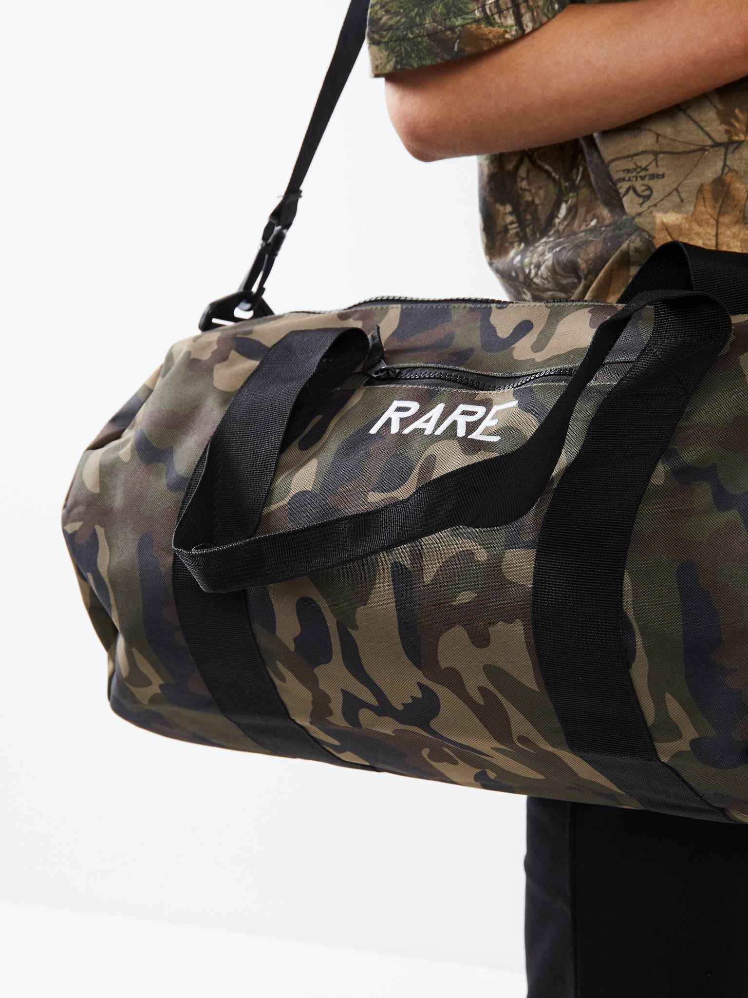 Combat Ready Camo Barrel Bag