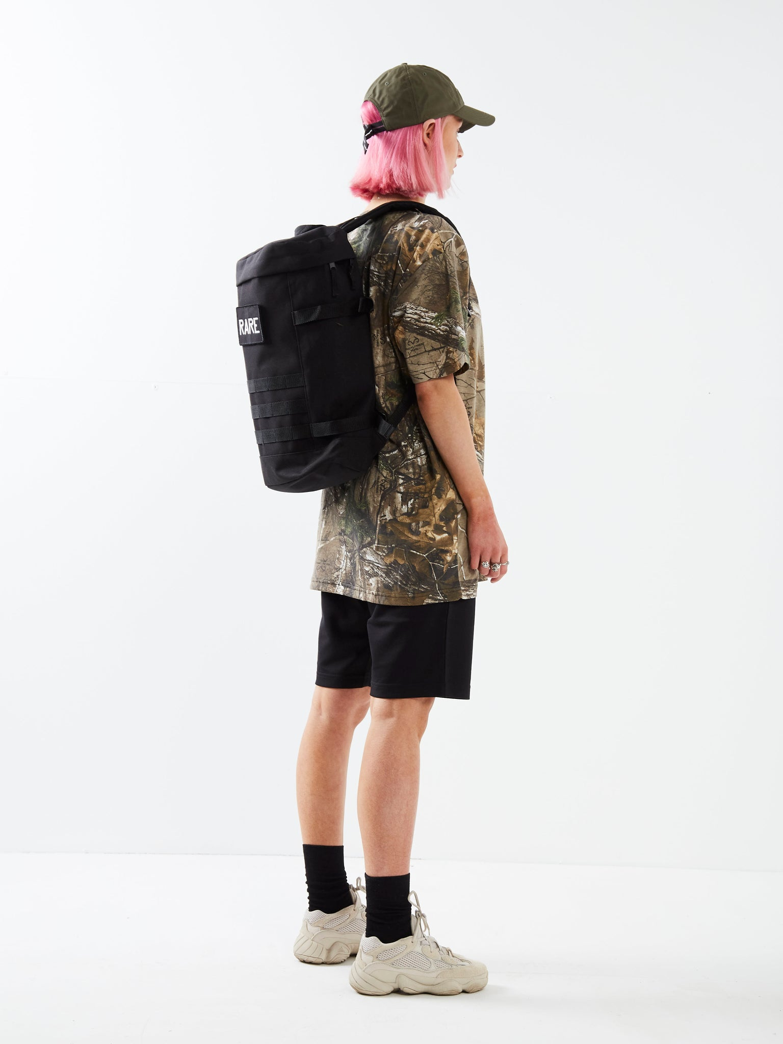 Combat Ready Black Utility Backpack