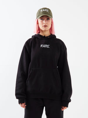 Keep in Line Black Hoodie