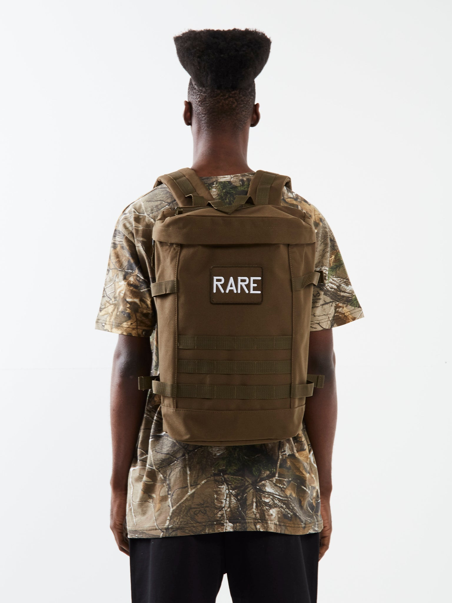 Combat Ready Green Utility Backpack