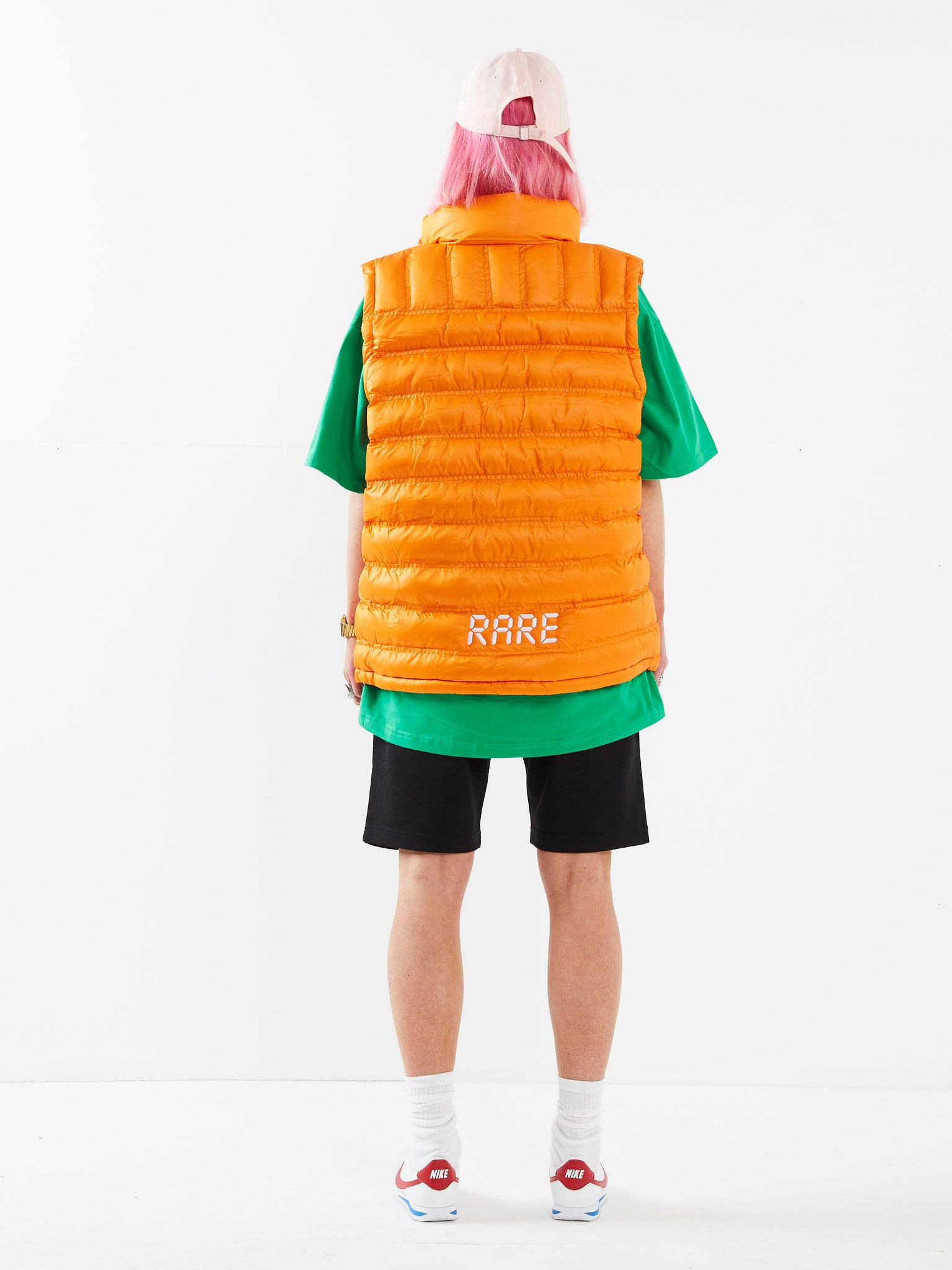 Dream Big Orange Gilet
