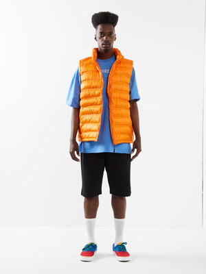 A Bit Thick Orange Padded Gilet