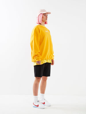 Daisy Chain Yellow Jumper