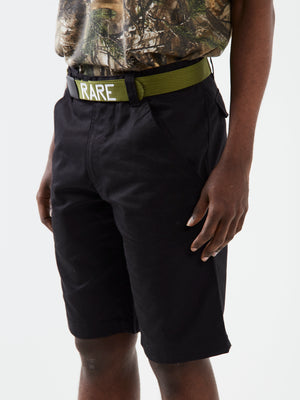 On Parade Green Logo Belt