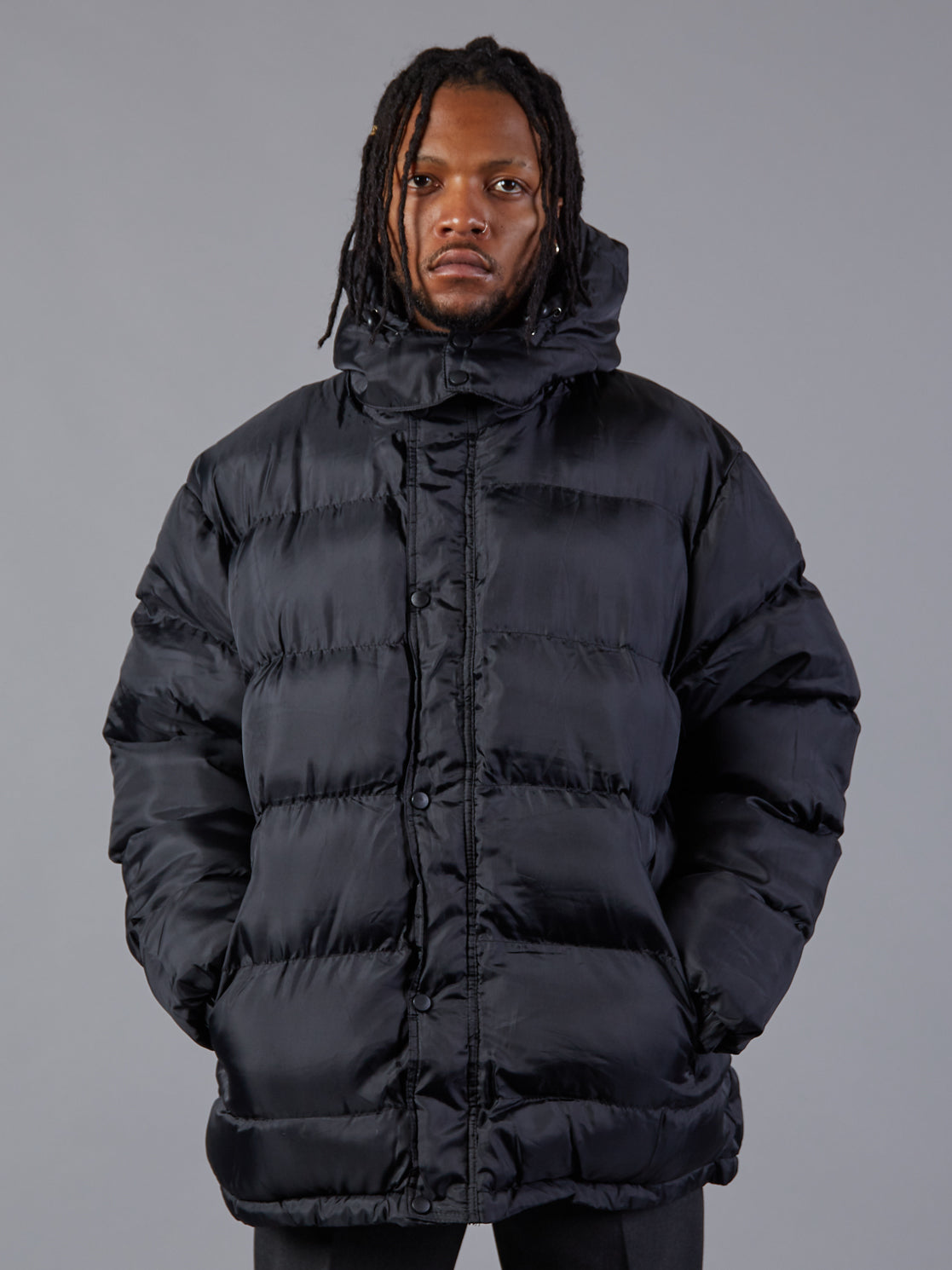Bench Warmer Black Padded Jacket