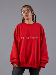 CustomRare Ho Ho Homie Xmas Jumper