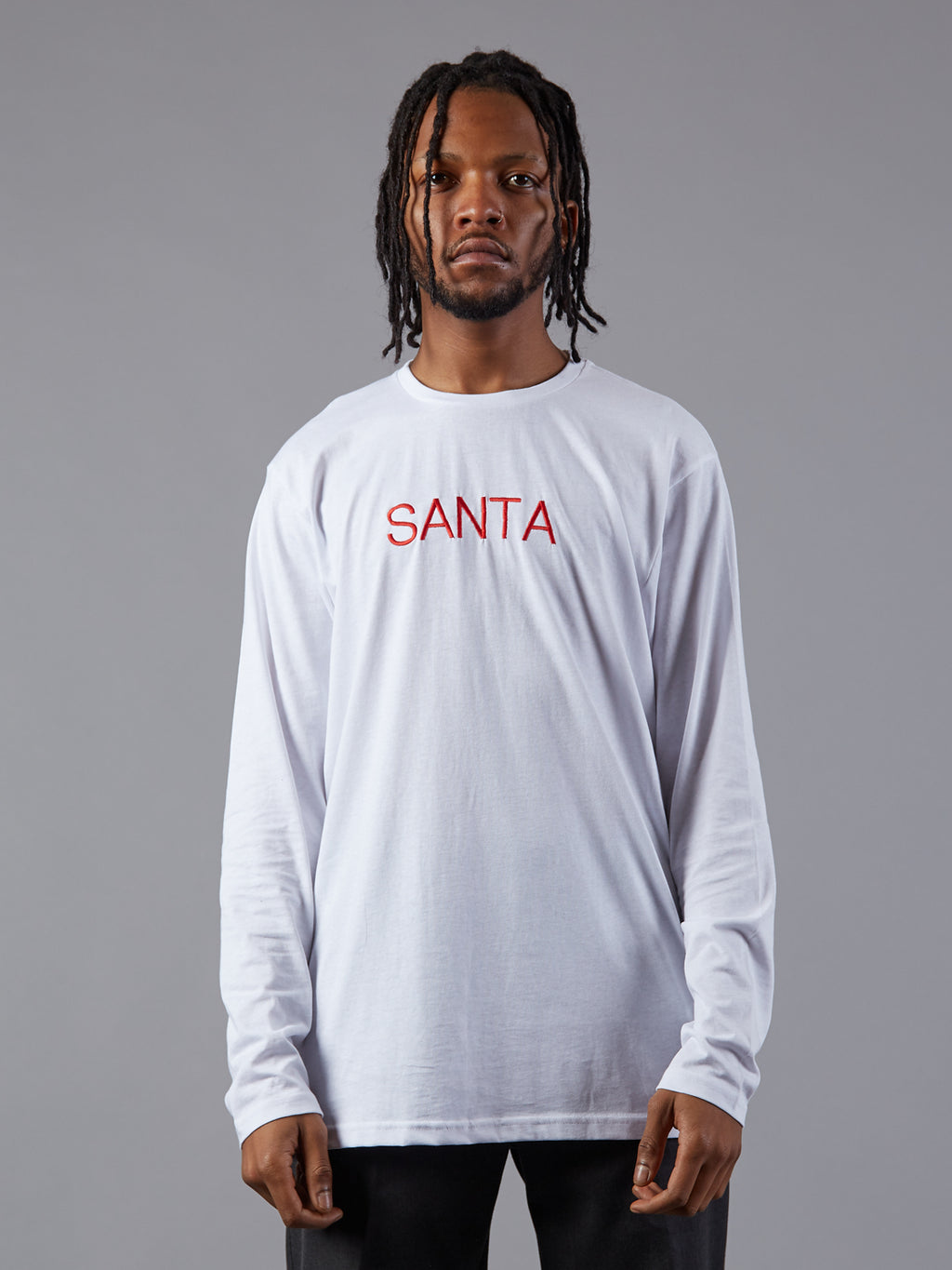 CustomRare SANTA Long Sleeve Tee