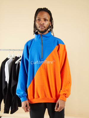 Half Cut 1/4 Zip Jumper