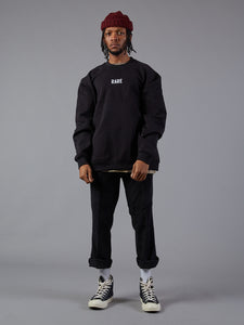 Wavy Gang Black Rare Jumper