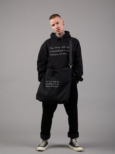 Different Class Black Logo Tote Bag