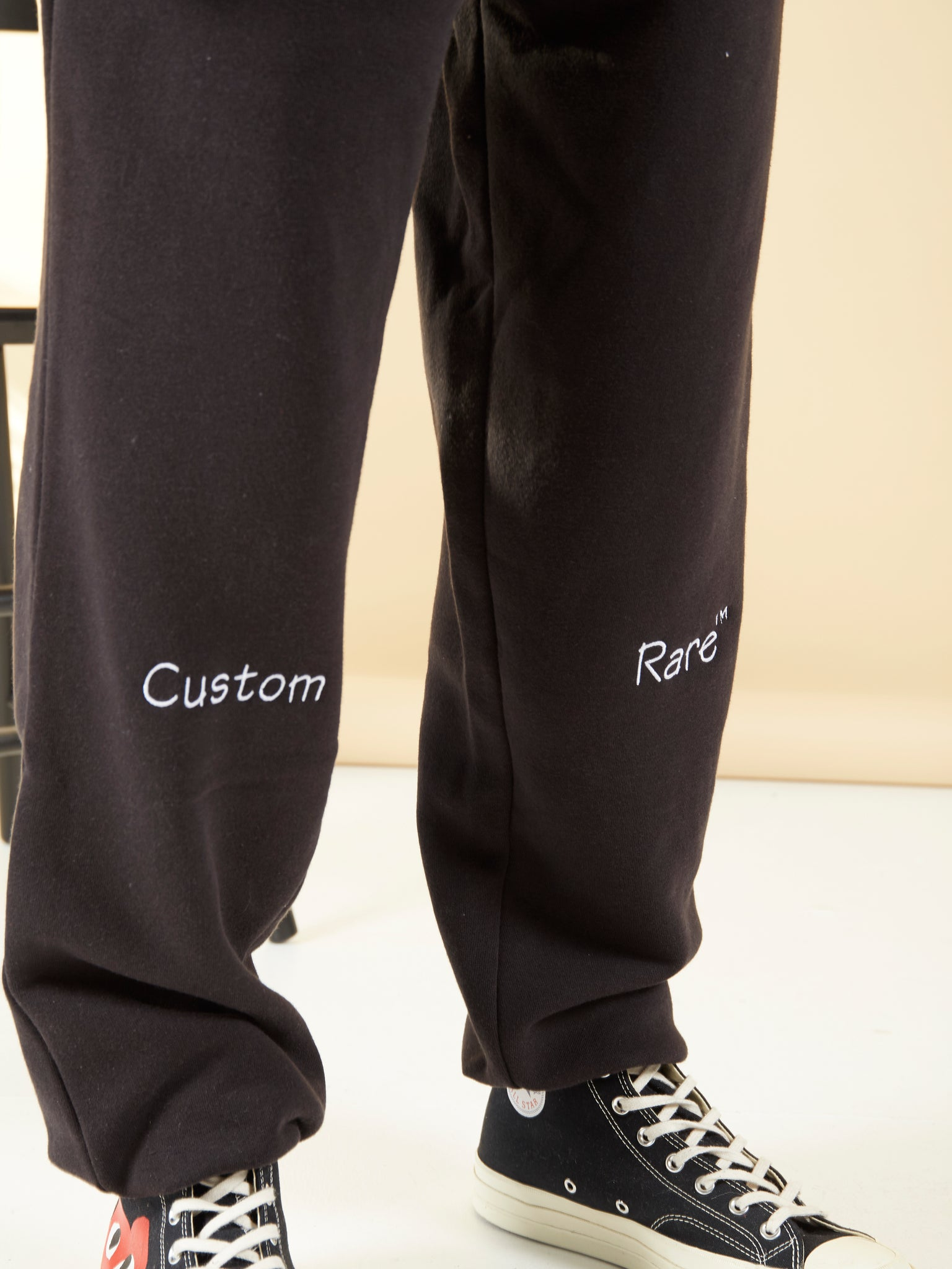 Bump And Grind Black Joggers