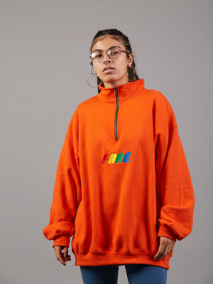 Read My Zip Oversized Jumper
