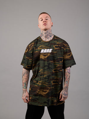 In Disguise Camo Oversized T-Shirt
