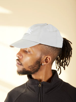 Brain Bucket Grey Hat