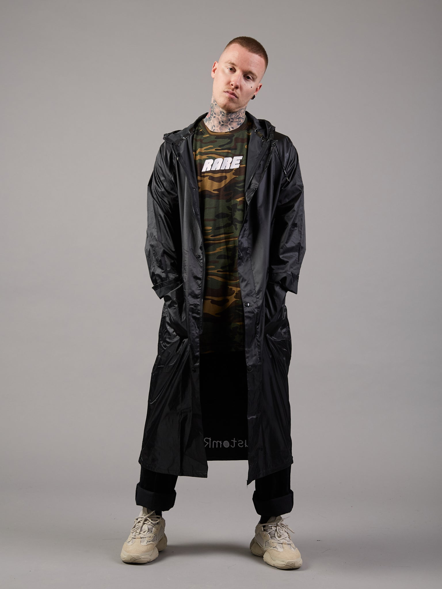 It's Raining Men Longline Waterproof