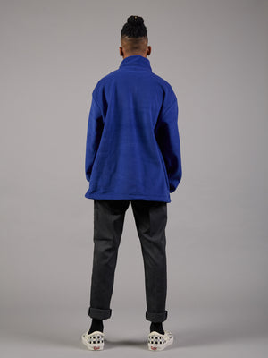 Air Force Blue Oversized Fleece
