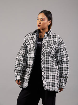 Checkmate Checkered Padded Jacket